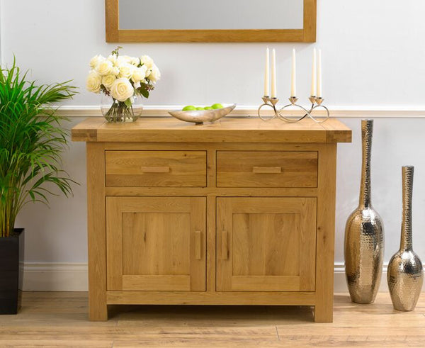 Avignon Medium Solid Oak Sideboard