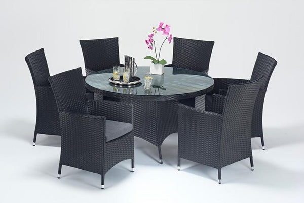 Prestige Round Dining Table & 6 Chairs