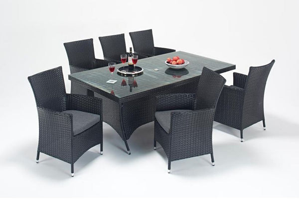 Prestige Rectangle Dining Table & 6 Chairs