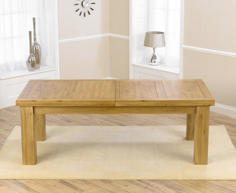 Laurent XL Solid Oak Dining Table