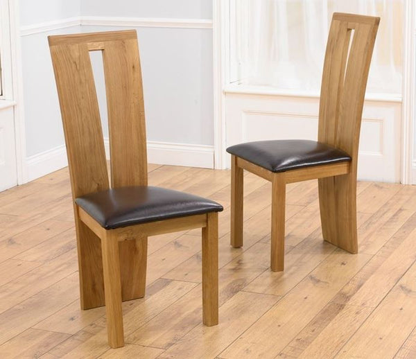 Arizona Brown Chairs ( Pairs)