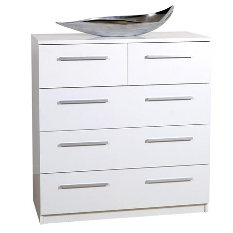 Designa 2+3 Chest of Drawers - Black or White