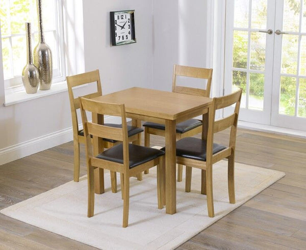 Hove Extending Dining Set With 2 / 4 Chairs