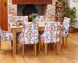 Mobel Solid Oak 150cm Dining Table (4 - 6 Seater)