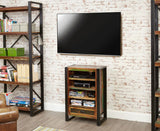 Urban Chic Reclaimed Wood Entertainment Cabinet