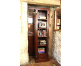 La Roque Narrow Alcove Solid Mahogany Bookcase