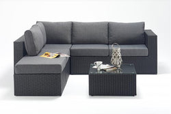 Prestige Small Corner Sofa (L) with Coffee Table
