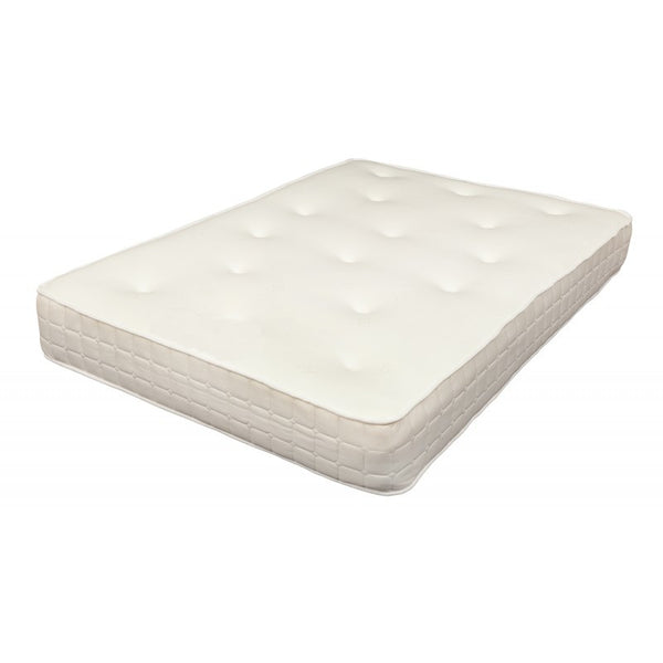 "4ft6 Hilton 10"" Memory Foam Sprung Mattress"