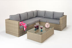 Rural Large Corner Sofa (R) with Coffee Table