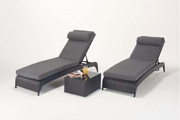 Prestige Lounger (Pairs) & Side Table