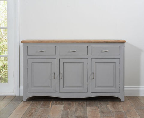 Sienna Grey Solid Hardwood Sideboard