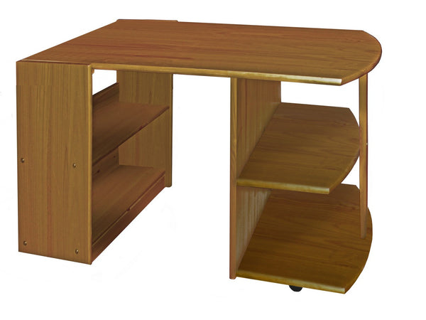 Mid Sleeper Pull Out Computer Office Desk Solid Wood Pine