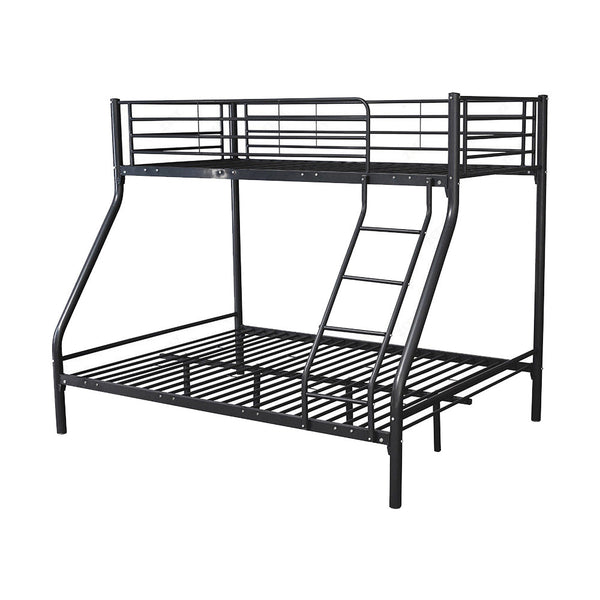 Montreal Black Double Bunk Bed