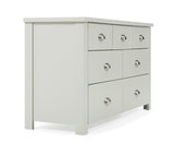Sandringham Oak Grey 4 + 3 Solid Hardwood Drawer Chest