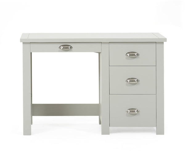 Sandringham Grey Single Pedestal Dressing Table