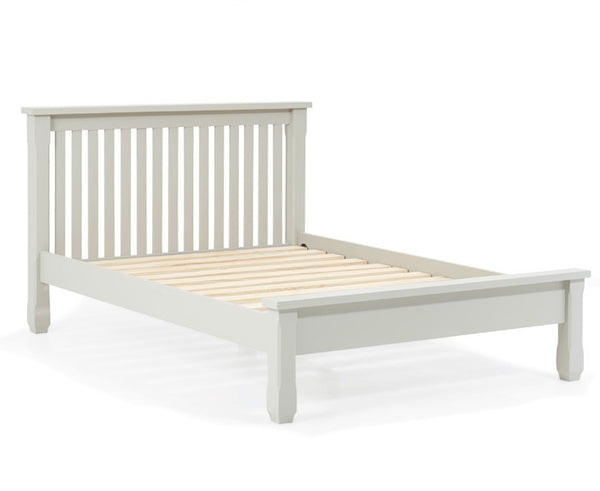 Sandringham Grey Double Bed Frame