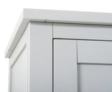 Sandringham Grey Triple Wardrobe