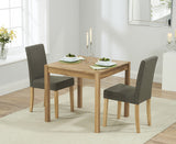 Promo 80cm Dining Set with 2 Maiya Chairs