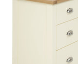Sandringham Oak and Cream 2 + 2 Drawer Chest