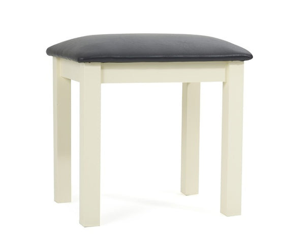 Sandringham Cream Dressing Table Stool