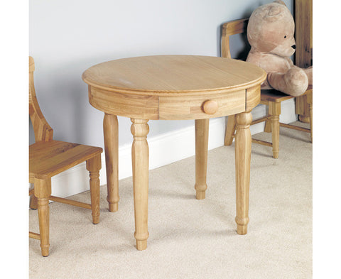 Amelie Oak Childrens Solid Wood Play Table