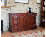 La Roque Solid Mahogany 6 Drawer Sideboard