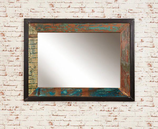 Urban Chic Reclaimed Wood Mirror Large (Landscape or Portrait)