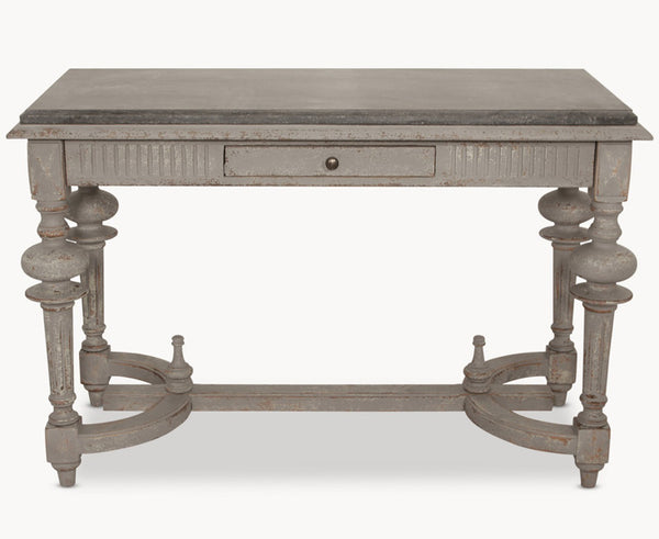 Woodcroft Stone Top Console Table