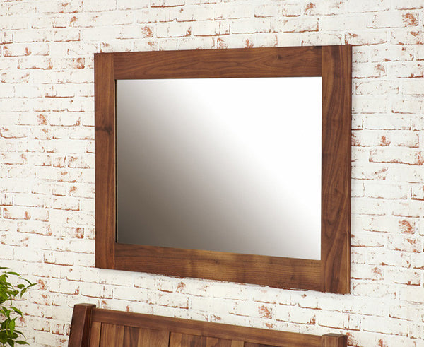Mayan Solid Walnut Medium Mirror