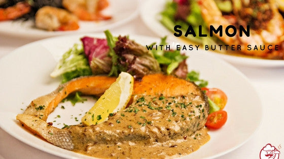Tv ads tagged western food recipe starlicious your kitchens star recipe salmon with easy butter sauce by chef xerli forumfinder Images
