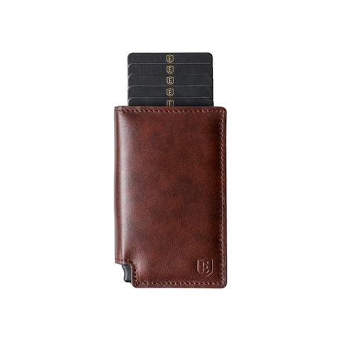 Brown Parliament + Tracker Smart Wallet @Ekster