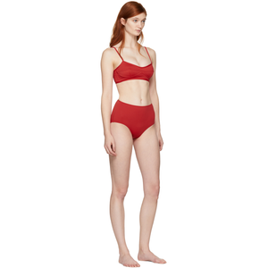 Red Bikini 50+ UV protection swimsuit @ssense - Hominems