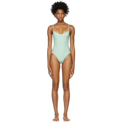 Mint 50+ UV protection swimsuit @ssense - Hominems