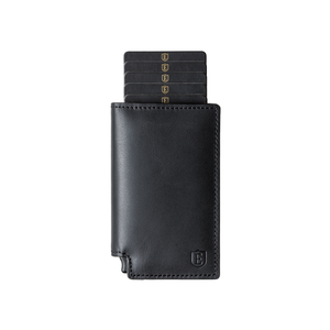 Black Parliament + Tracker Smart Wallet @Ekster