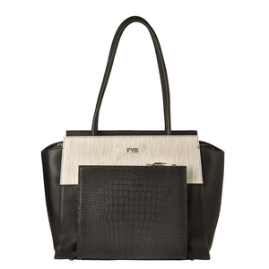 Black city handbag @FYBLondon