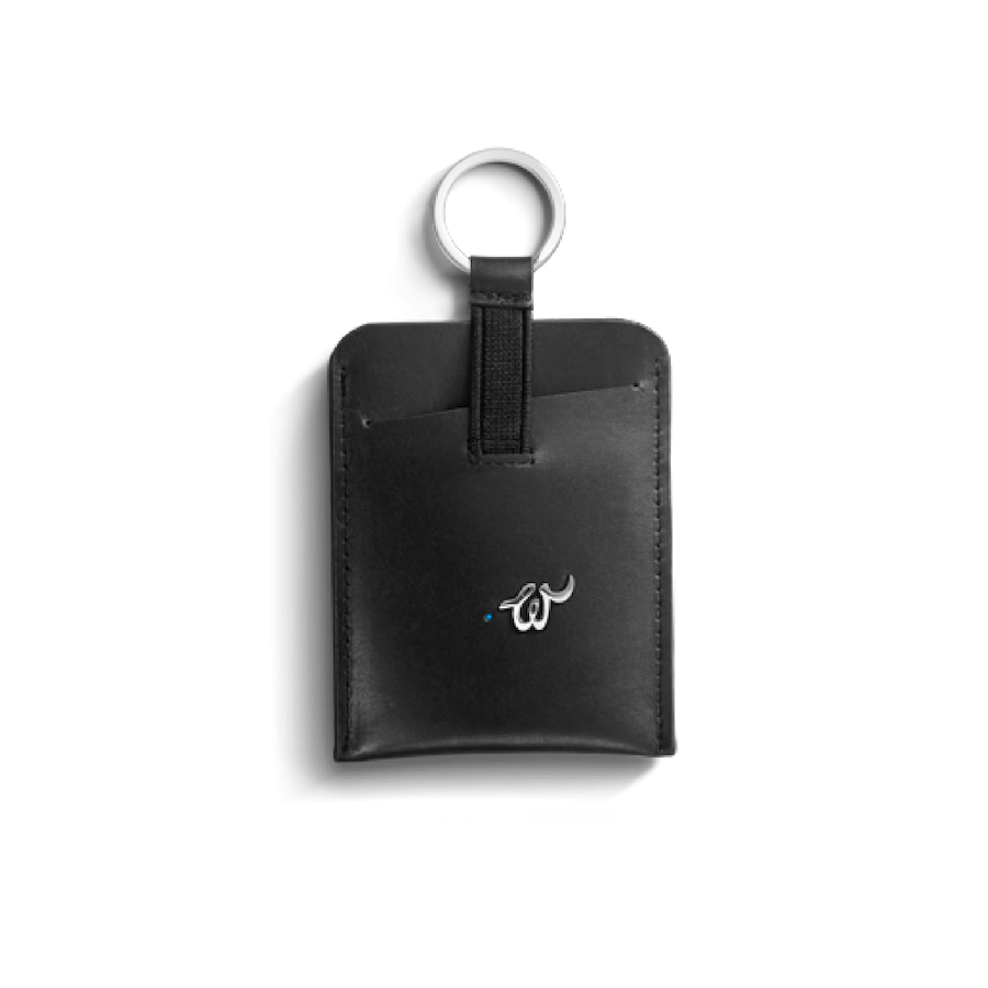 Glow Smart Key holder Black @ Woolet