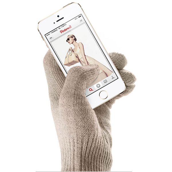 Nano-Nylon silver coated gloves @Mujjo