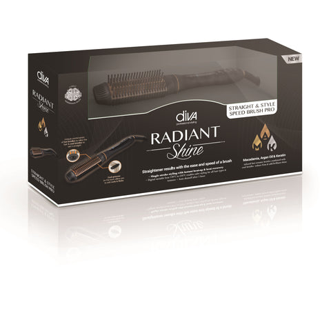 Radiant Shine Straight & Style Speed Brush