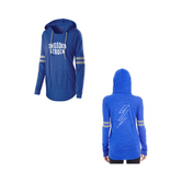 Thunderstruck Ladies Hooded Light Pullover