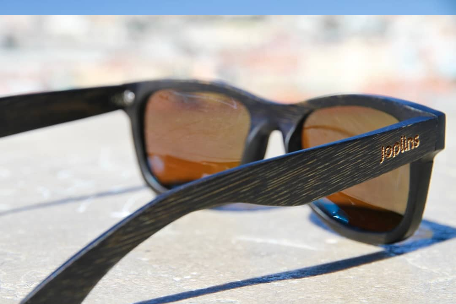 Beat the Heat with Wood Frame Polarized Sunglasses