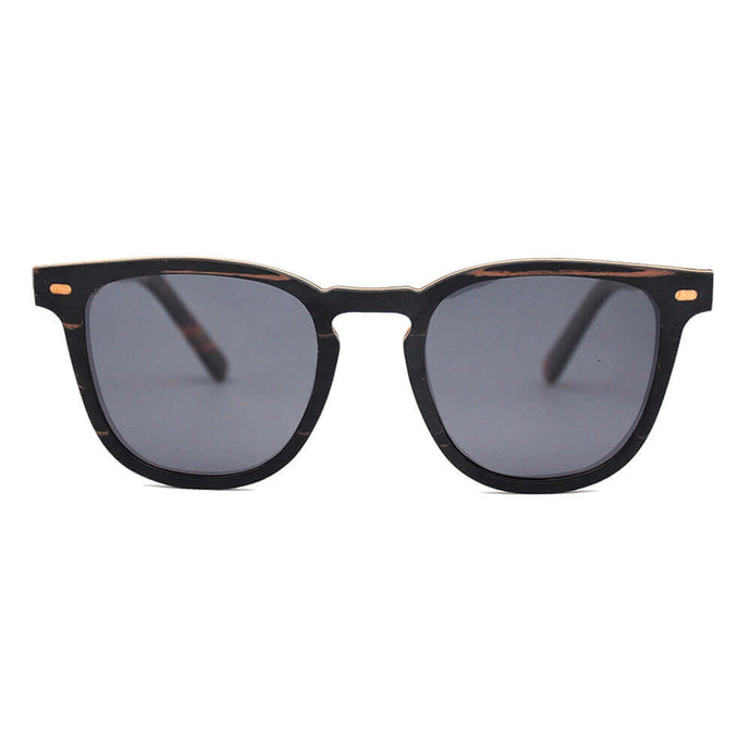 Lark (Color Varies) - JOPLINS® Sunglasses Ebony Wood Sunglasses