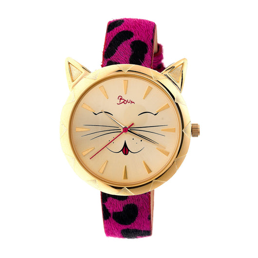 Boum Bm3205 Miaou Ladies Watch