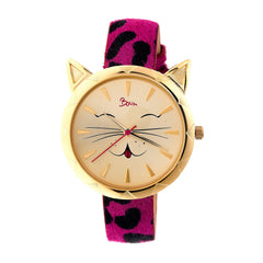 Related product : Boum Bm3205 Miaou Ladies Watch