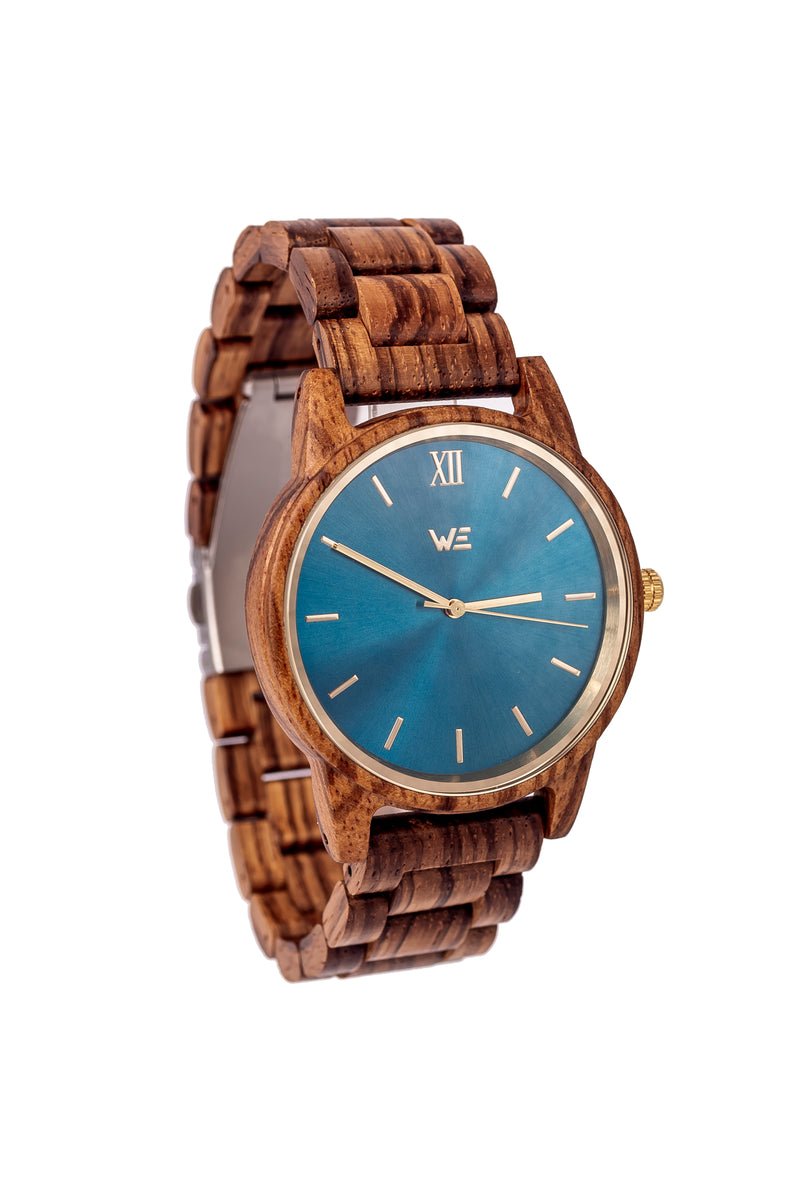 Ocean Drive (Light Blue) - Wooden Element