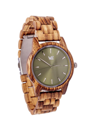 Time Bandit (Green) - Wooden Element