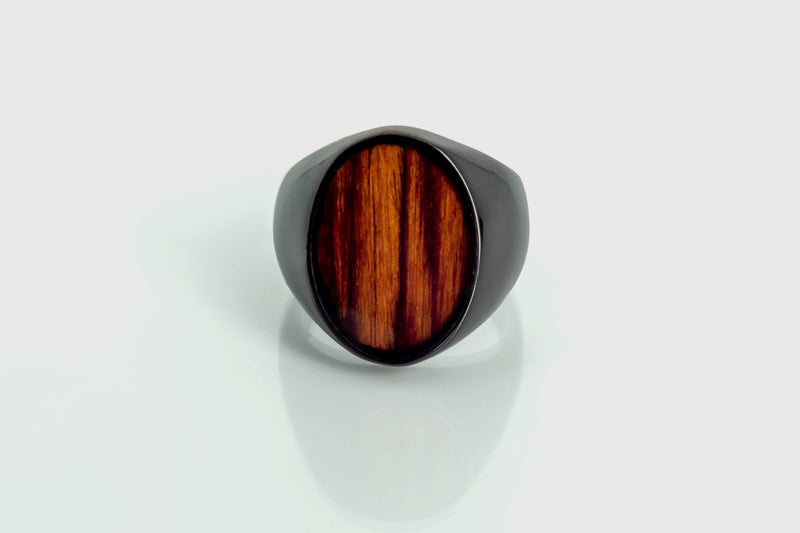 Valyarian (Black with Zebra Wood) - Wooden Element