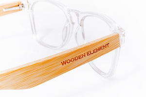 Crystalline (Clear /Bamboo) - Wooden Element