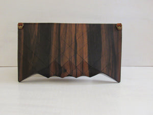 Wooden Handbags: The Vivienne Collection (Le Grand Ebony) - Wooden Element