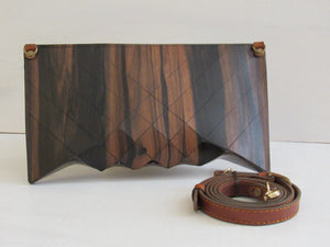 Wooden Handbags: The Vivienne Collection (Le Petite Ebony) - Wooden Element
