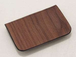 Wooden Wallet: Le Lys Collection (Walnut) - Wooden Element